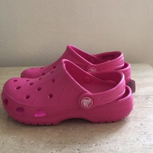 73f702c0ecca3 CROCS Shoes - Pink CROCS Plastic Sandal for Kids Size 10